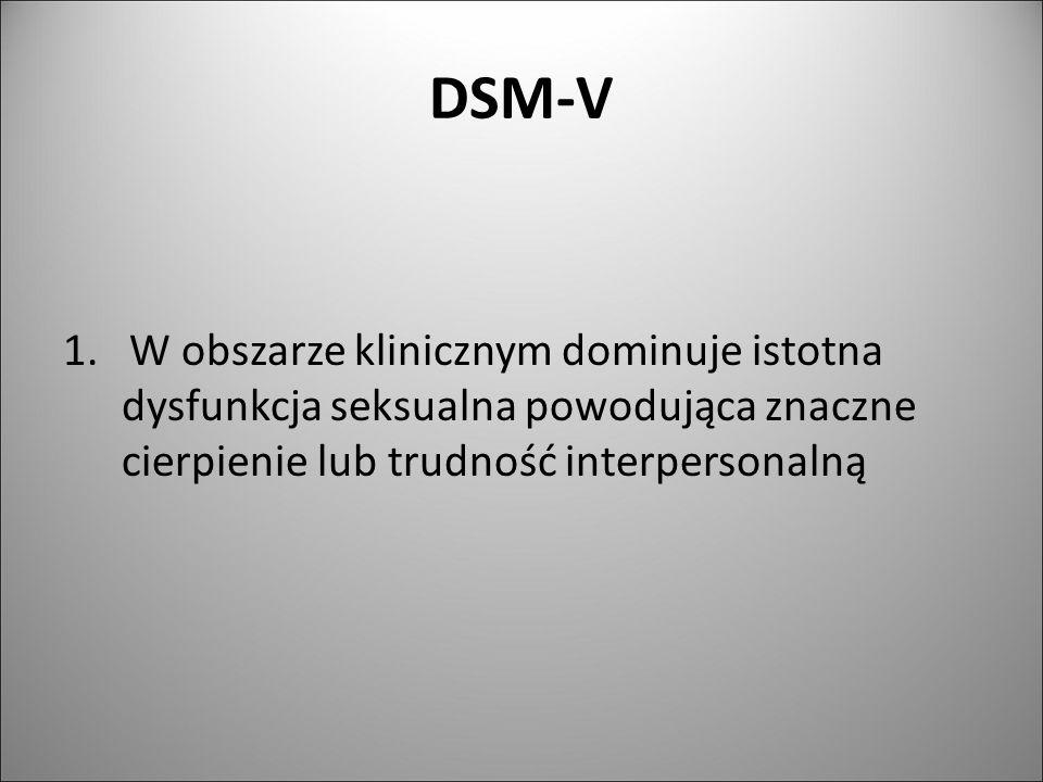 DSM-V 1.