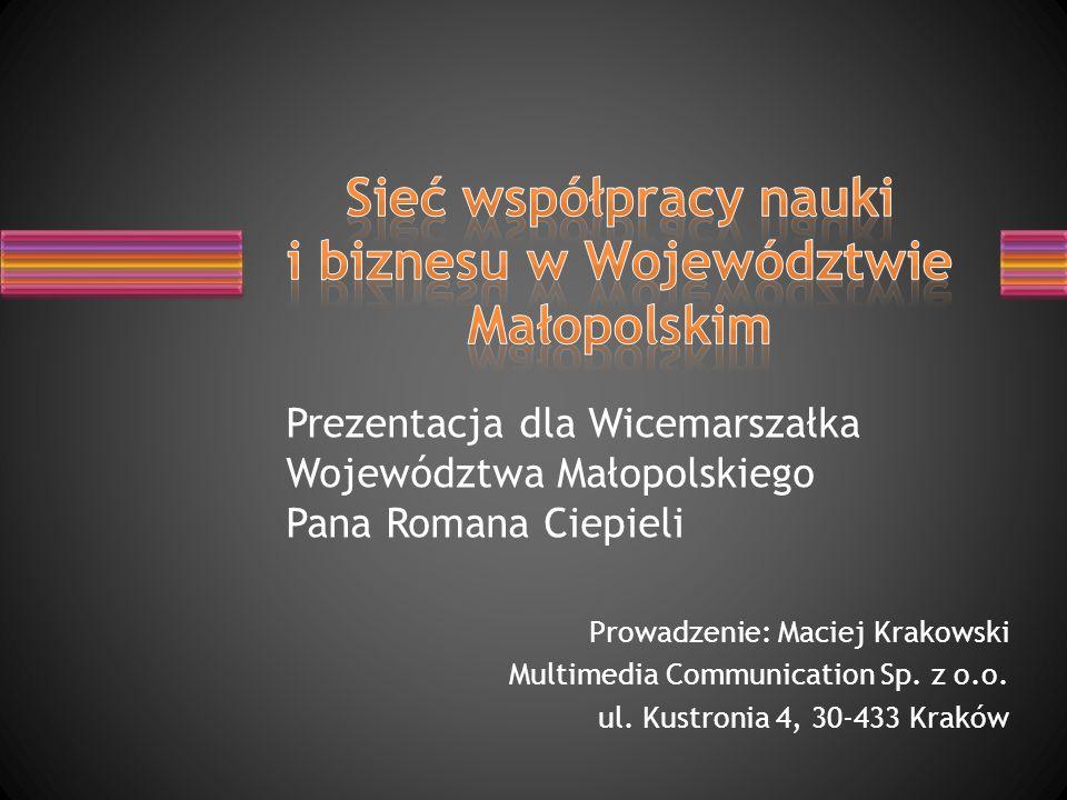 Sieć współpracy nauki i biznesu w Województwie Małopolskim