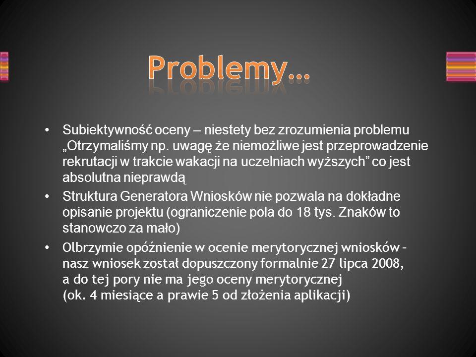 Problemy…
