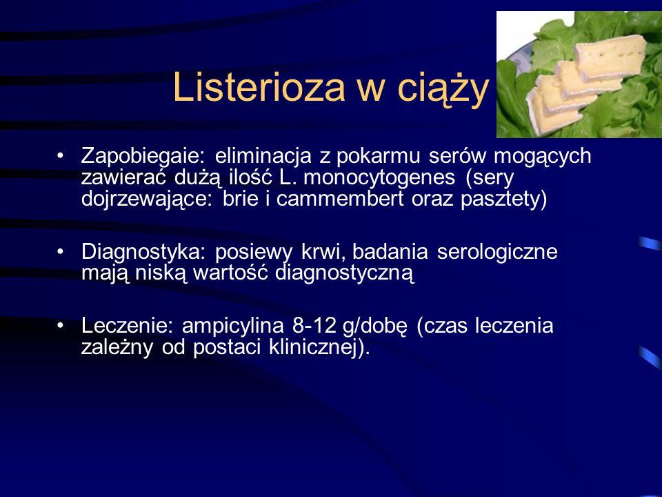 Listerioza w ciąży
