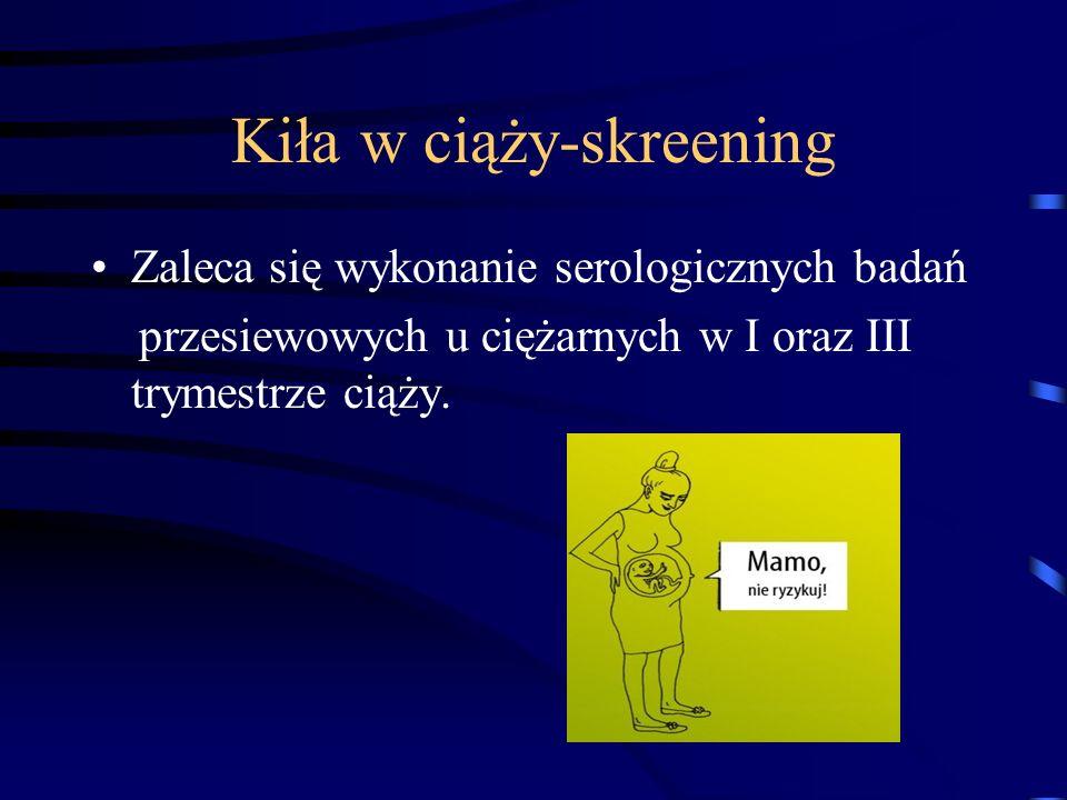 Kiła w ciąży-skreening