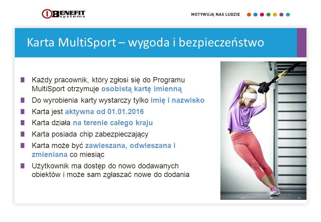Karta MultiSport – wygoda i bezpieczeństwo