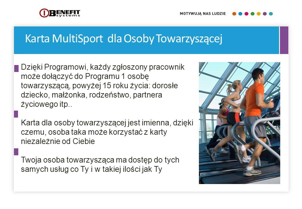 Karta MultiSport dla Osoby Towarzyszącej