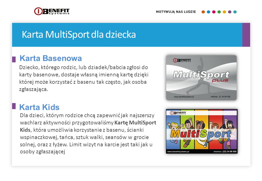 Karta MultiSport dla dziecka