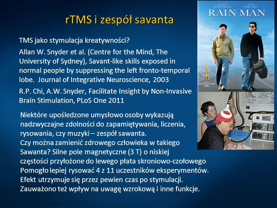 rTMS i zespół savanta