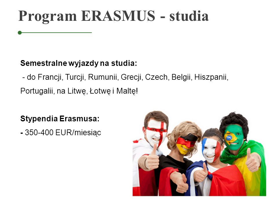 Program ERASMUS - studia