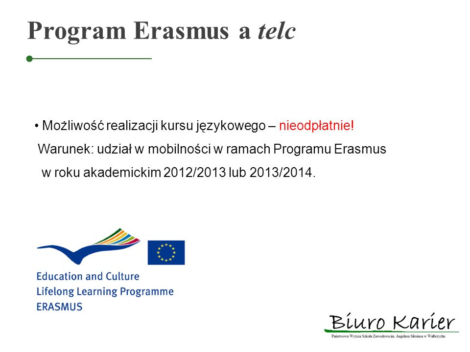 Program Erasmus a telc
