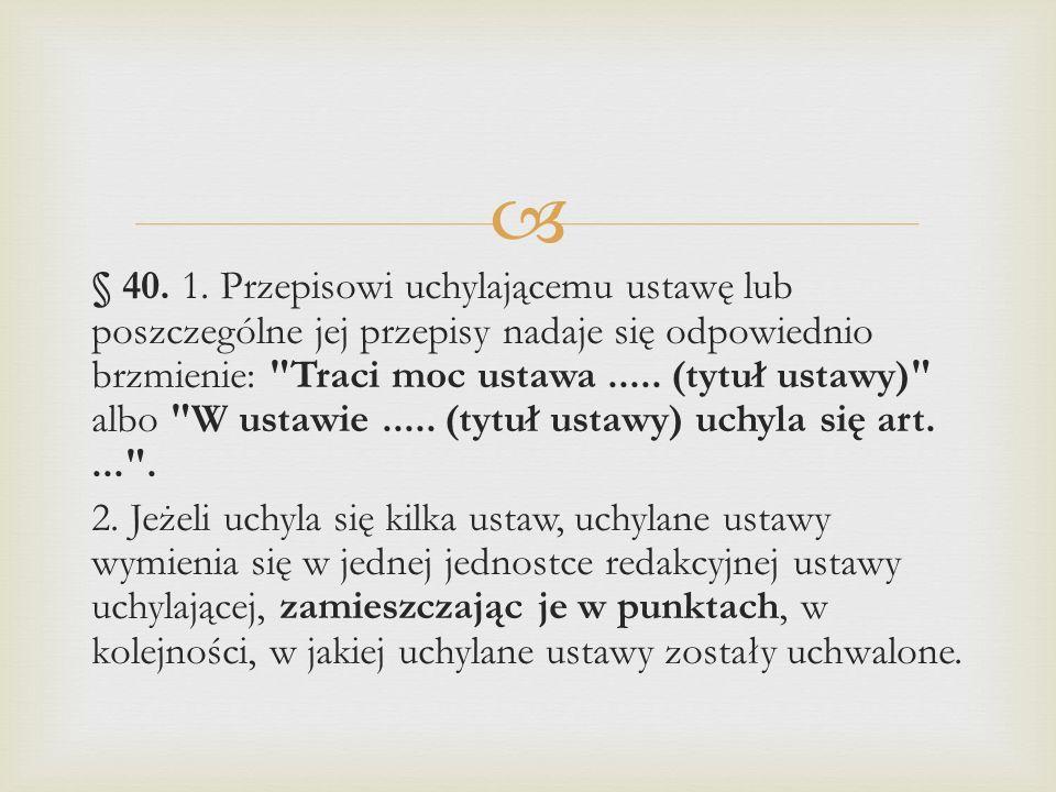 § 40. 1.