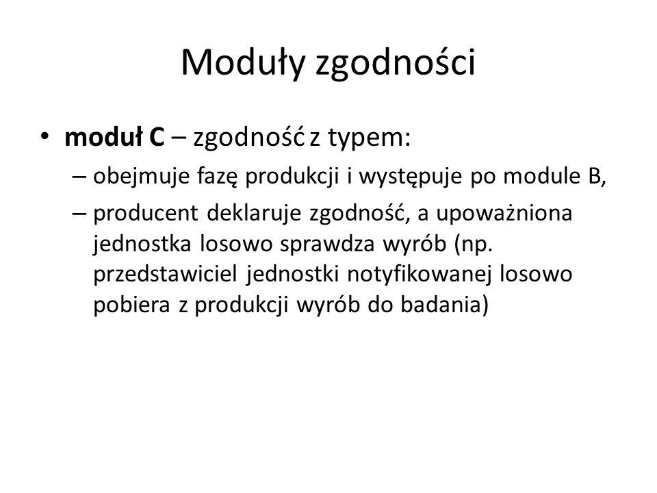Moduły zgodności moduł C – zgodność z typem: