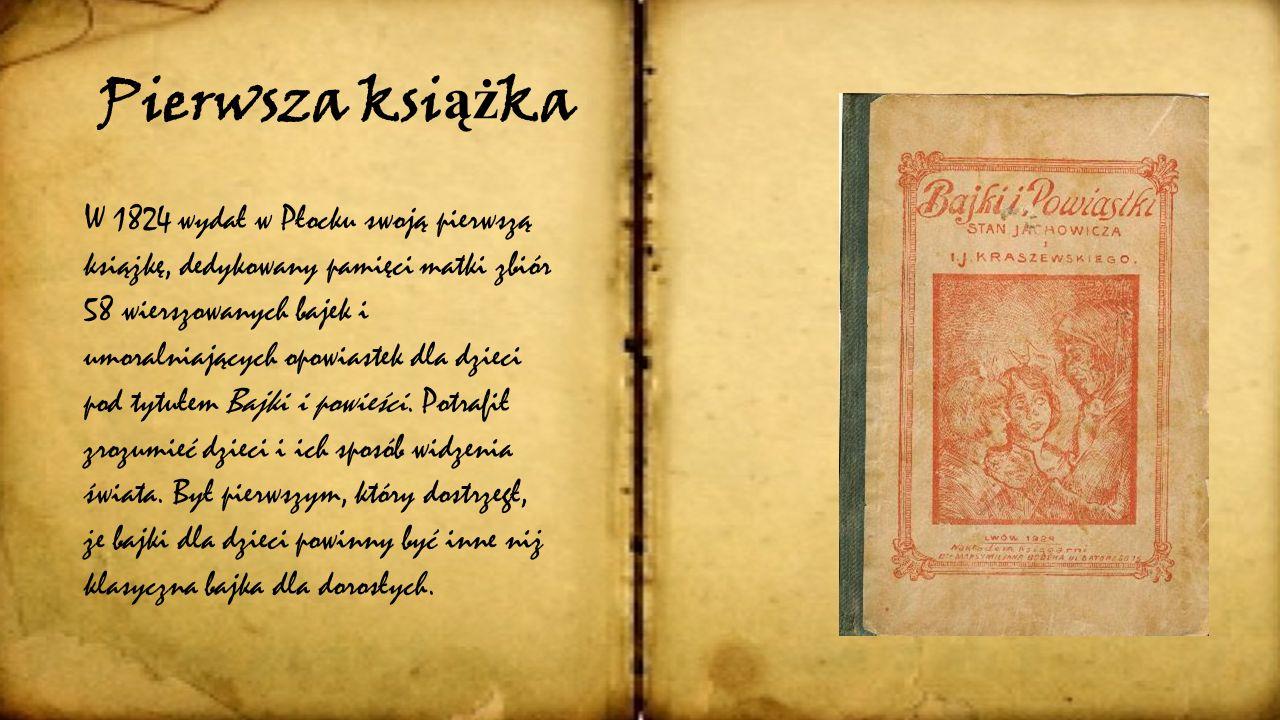 Pierwsza książka