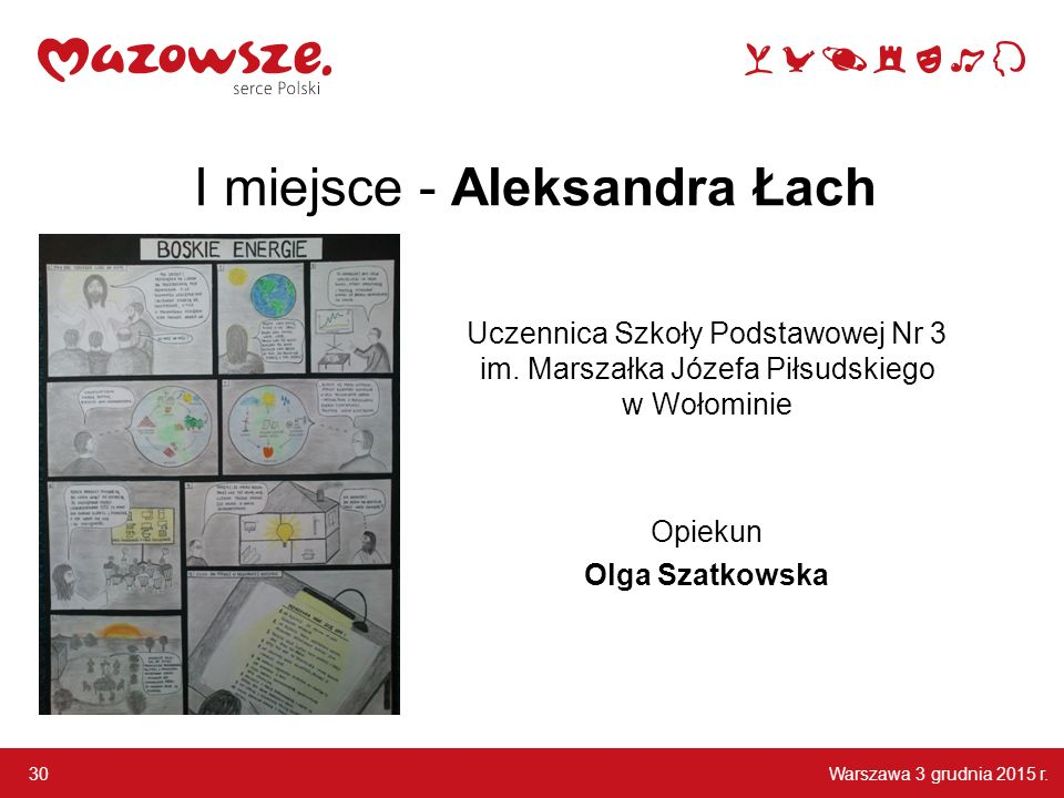 I miejsce - Aleksandra Łach