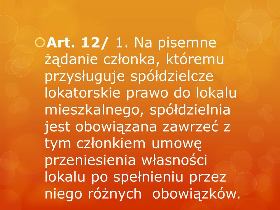 Art. 12/ 1.