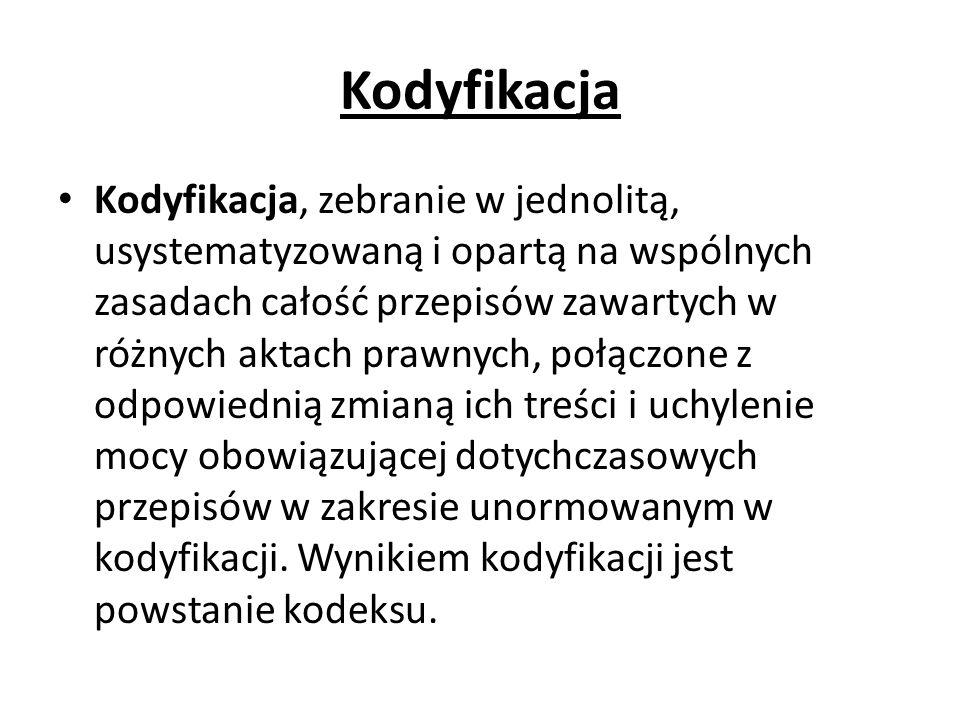 Kodyfikacja