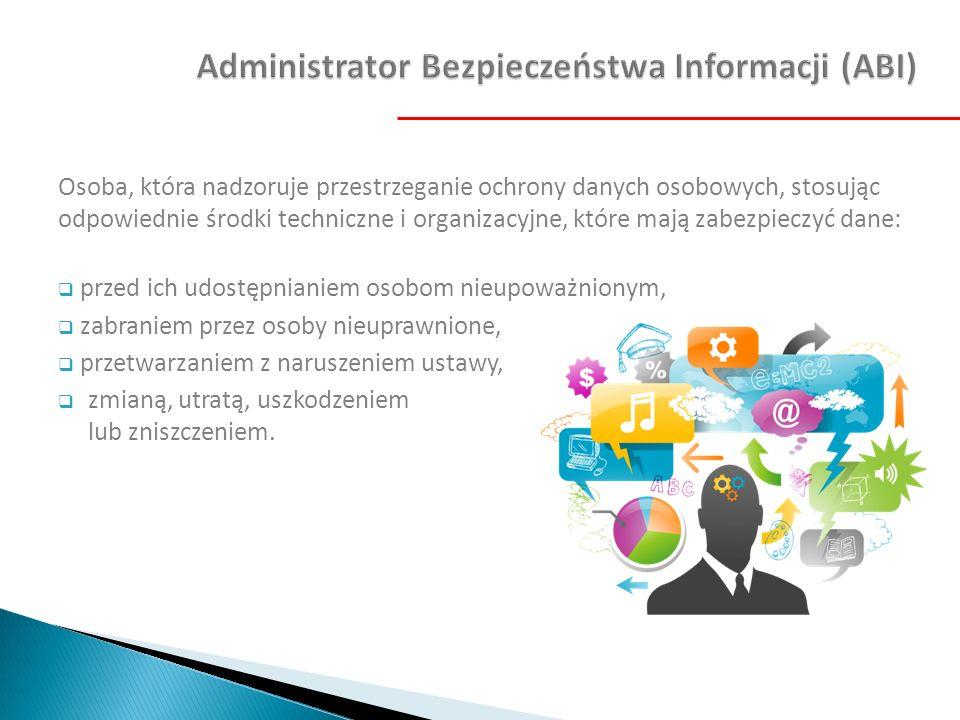 Administrator Bezpieczeństwa Informacji (ABI)