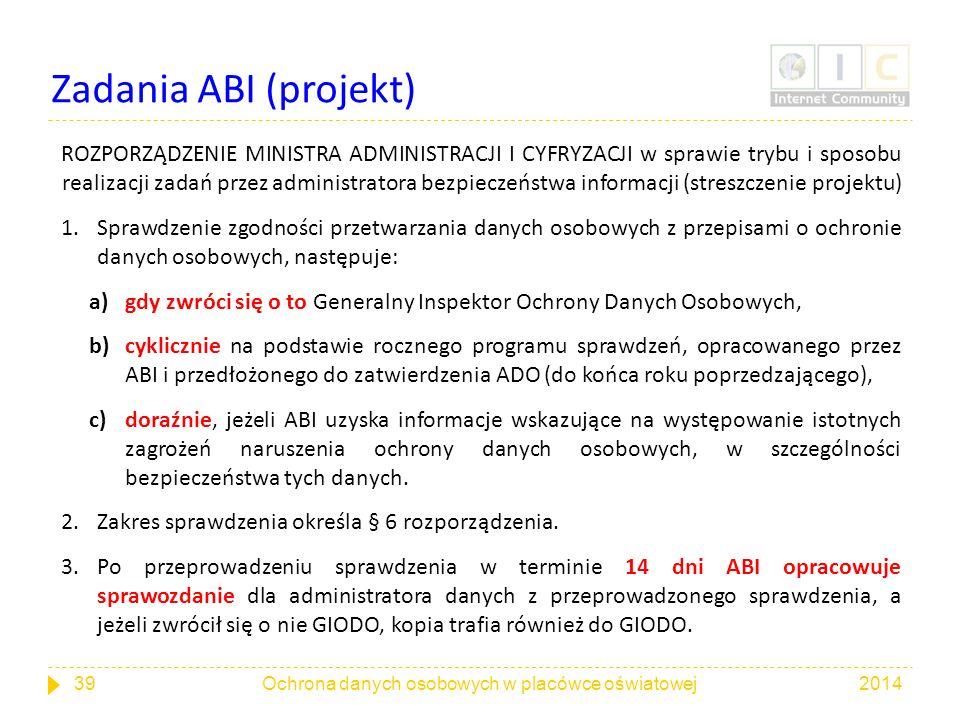 Zadania ABI (projekt)