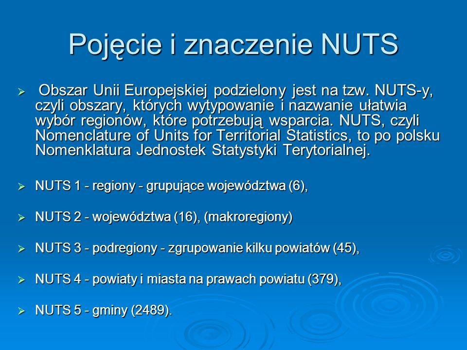 Pojęcie i znaczenie NUTS