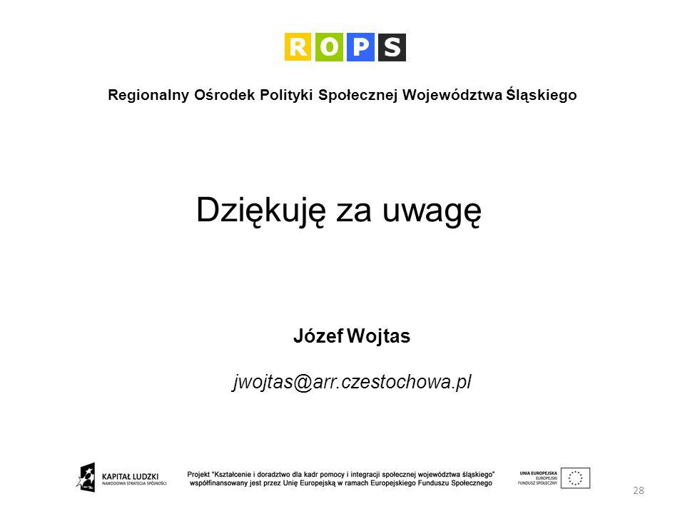 Regionalny Ośrodek Polityki Społecznej Województwa Śląskiego