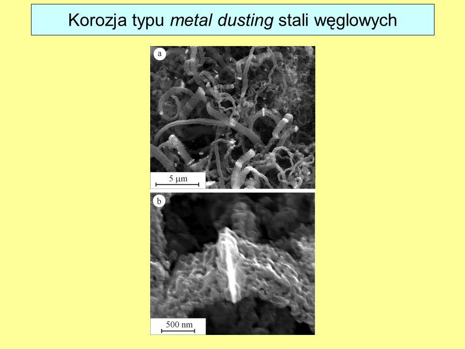 Korozja typu metal dusting stali węglowych