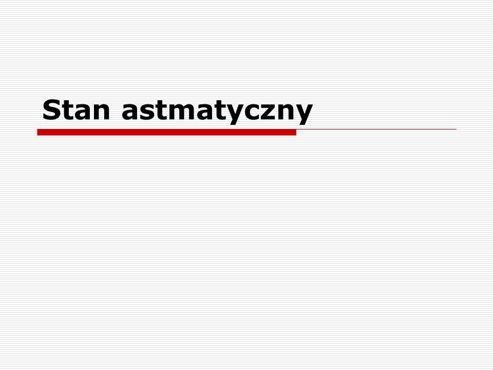 Stan astmatyczny