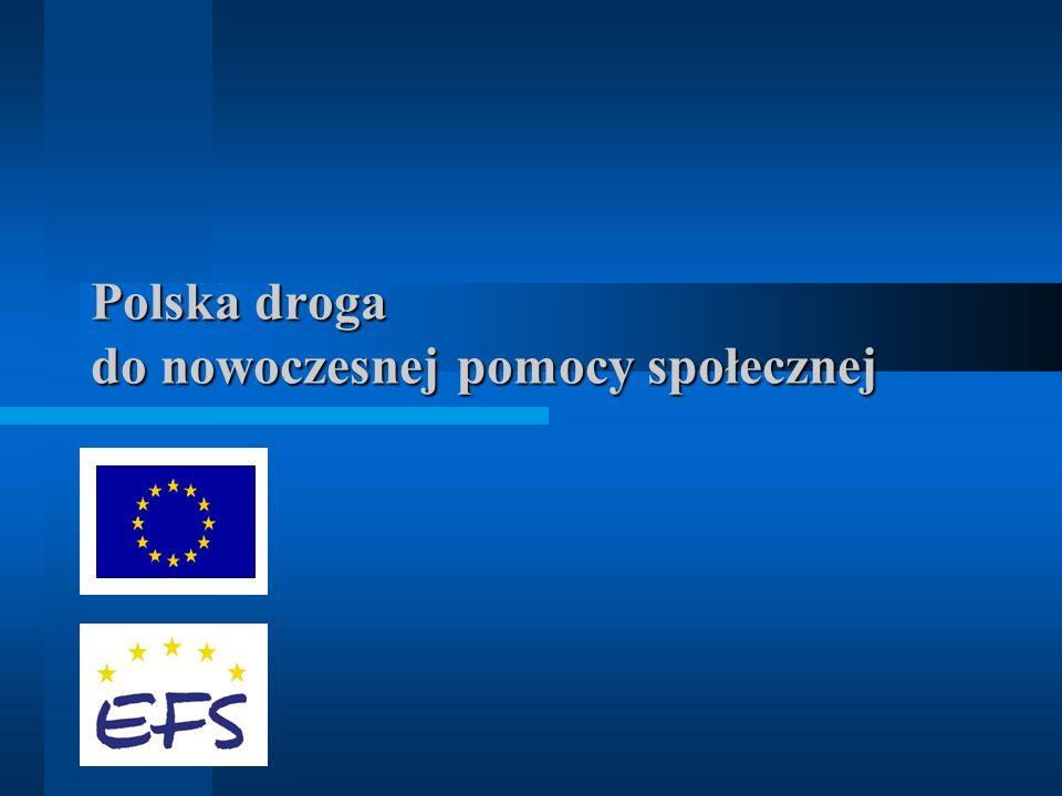 Polska droga do nowoczesnej pomocy społecznej