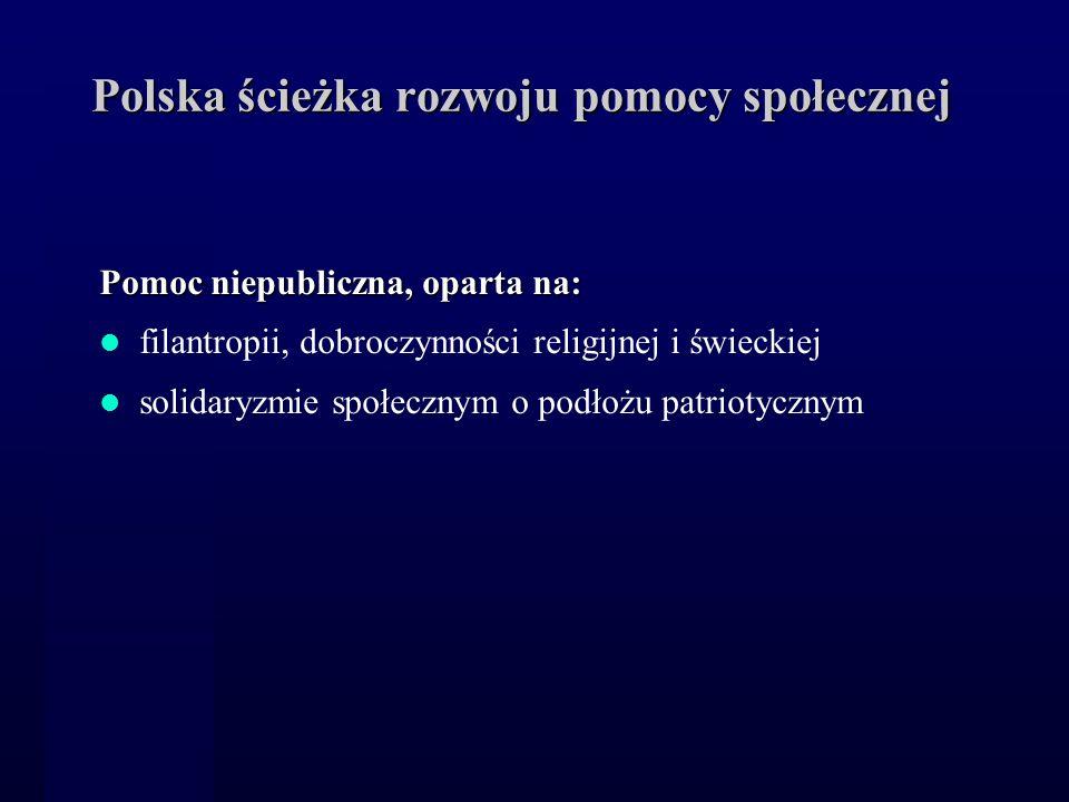 Polska ścieżka rozwoju pomocy społecznej