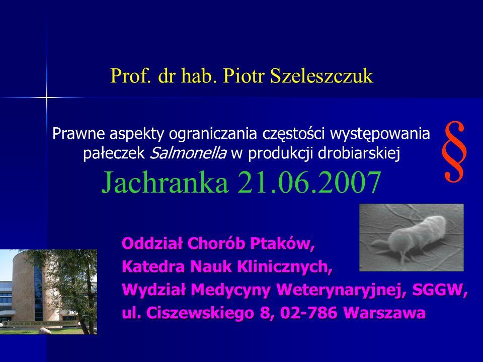 § Jachranka 21.06.2007 Oddział Chorób Ptaków,