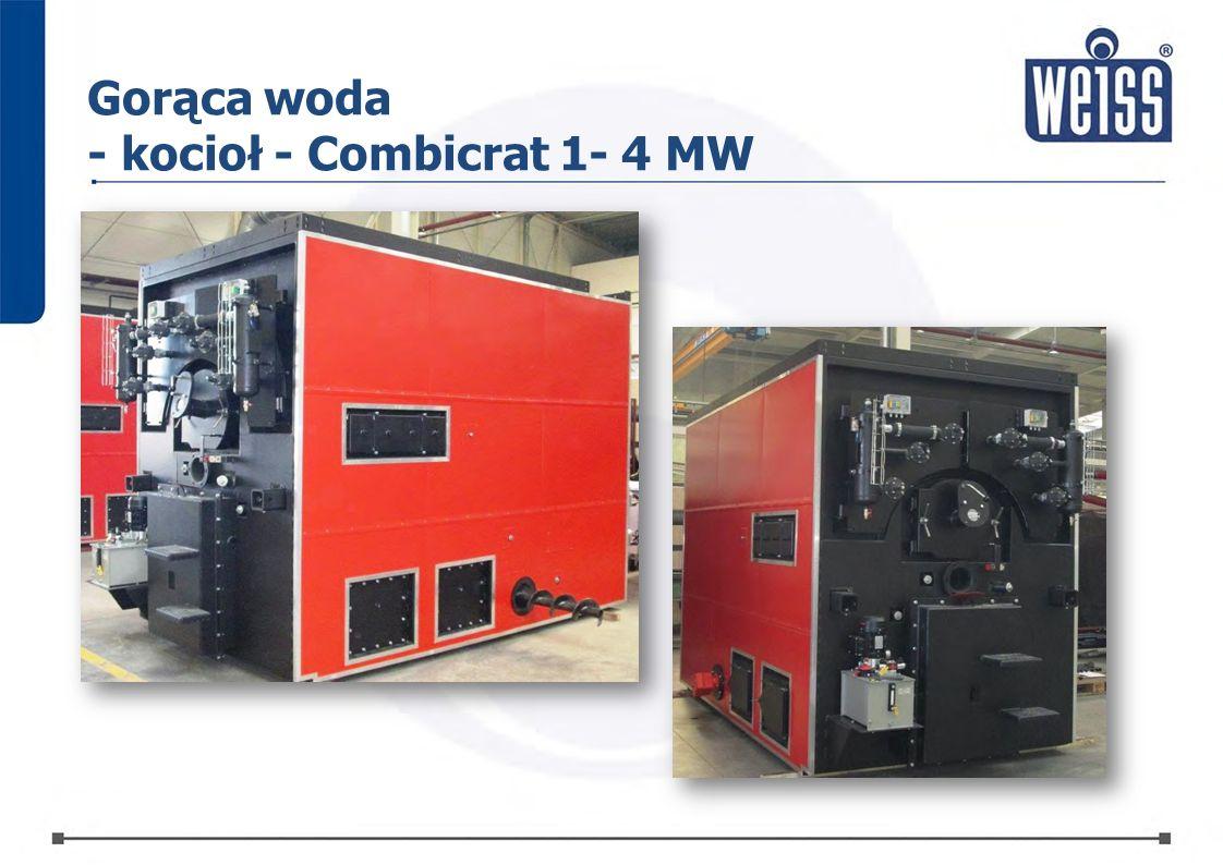 Gorąca woda - kocioł - Combicrat 1- 4 MW