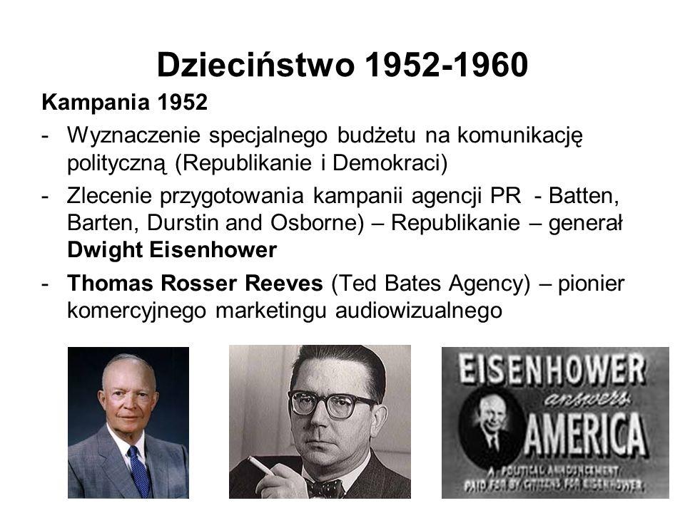 Dzieciństwo 1952-1960 Kampania 1952