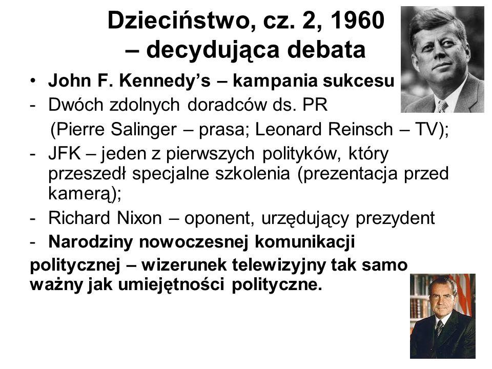 Dzieciństwo, cz. 2, 1960 – decydująca debata