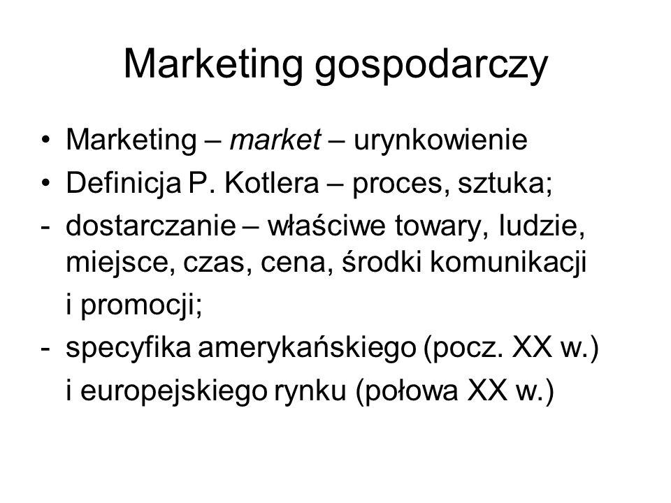 Marketing gospodarczy