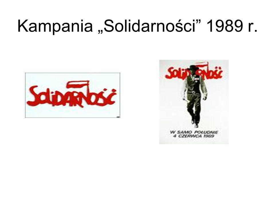 """Kampania """"Solidarności 1989 r."""