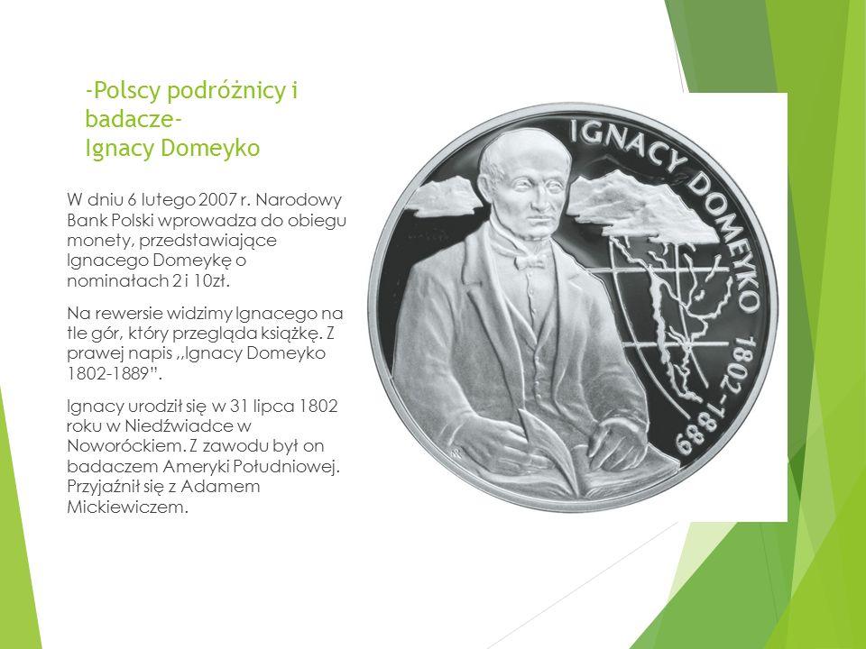 -Polscy podróżnicy i badacze- Ignacy Domeyko