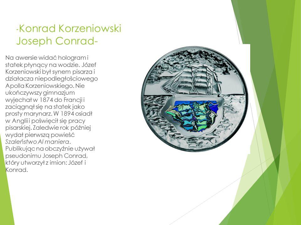 -Konrad Korzeniowski Joseph Conrad-
