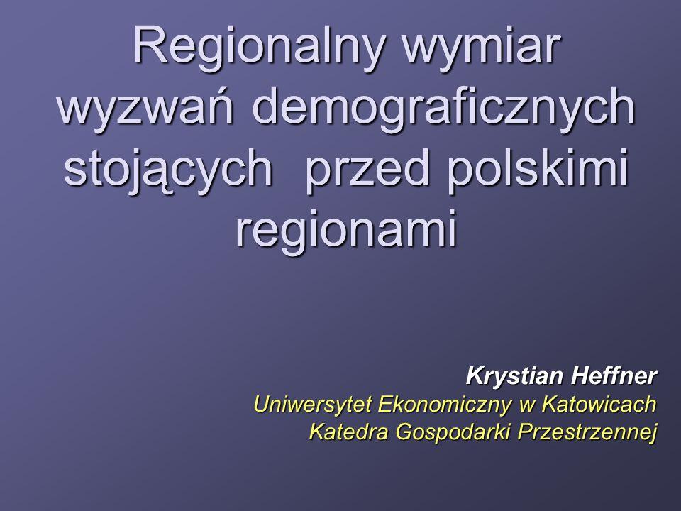 Regionalny wymiar wyzwań demograficznych stojących przed polskimi regionami