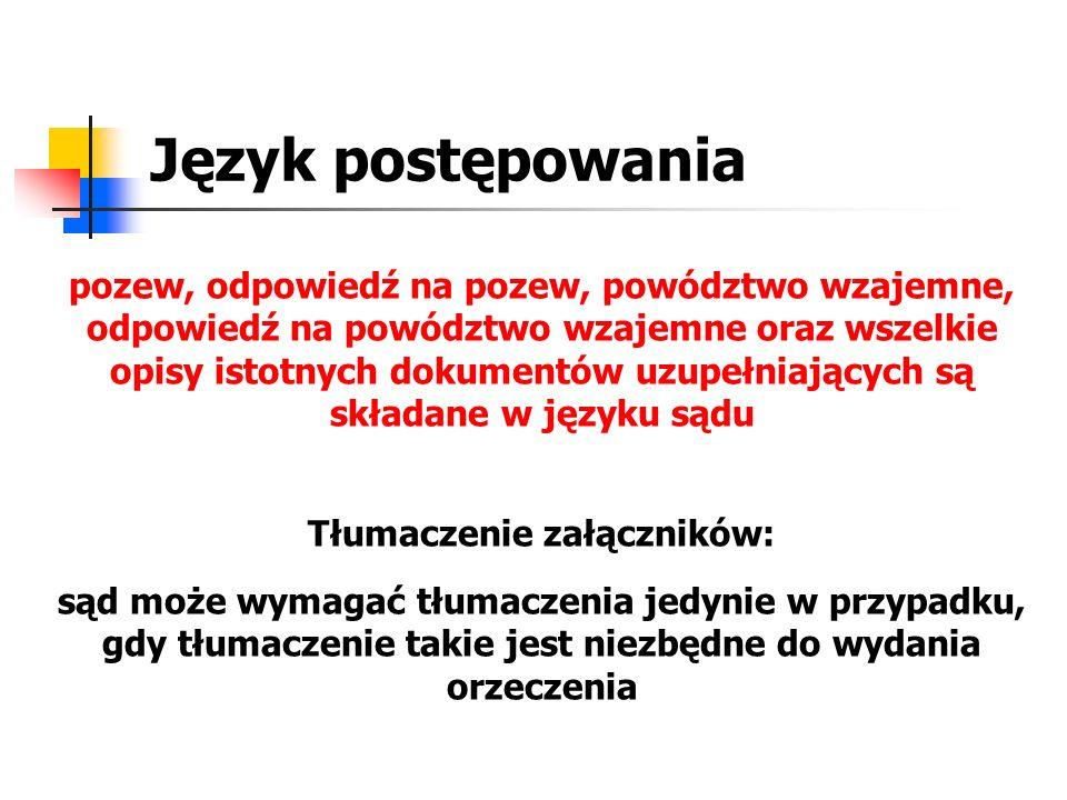Tłumaczenie załączników:
