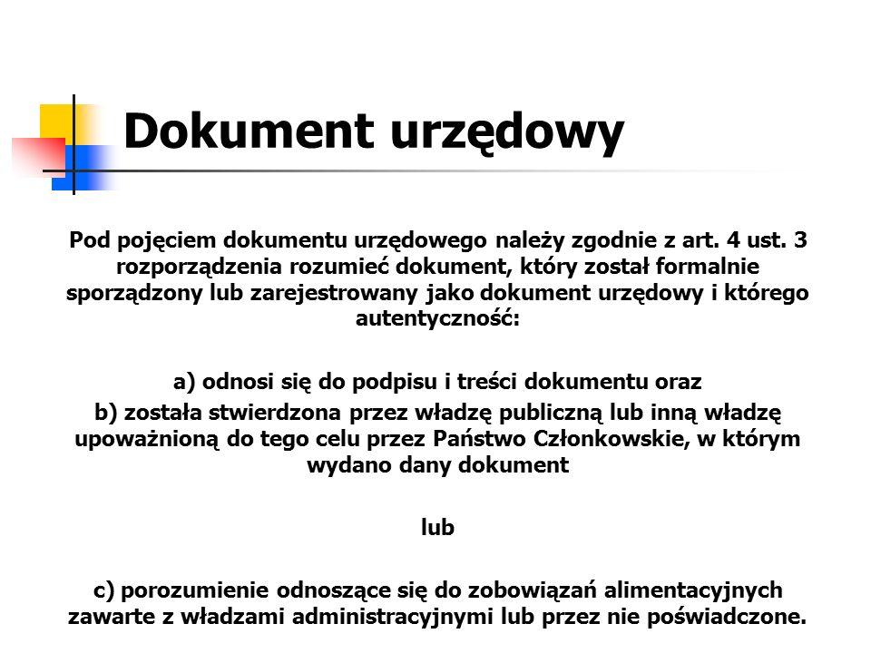 a) odnosi się do podpisu i treści dokumentu oraz
