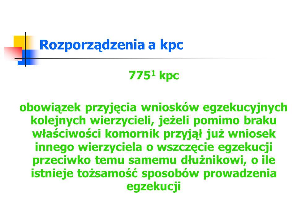 Rozporządzenia a kpc 7751 kpc