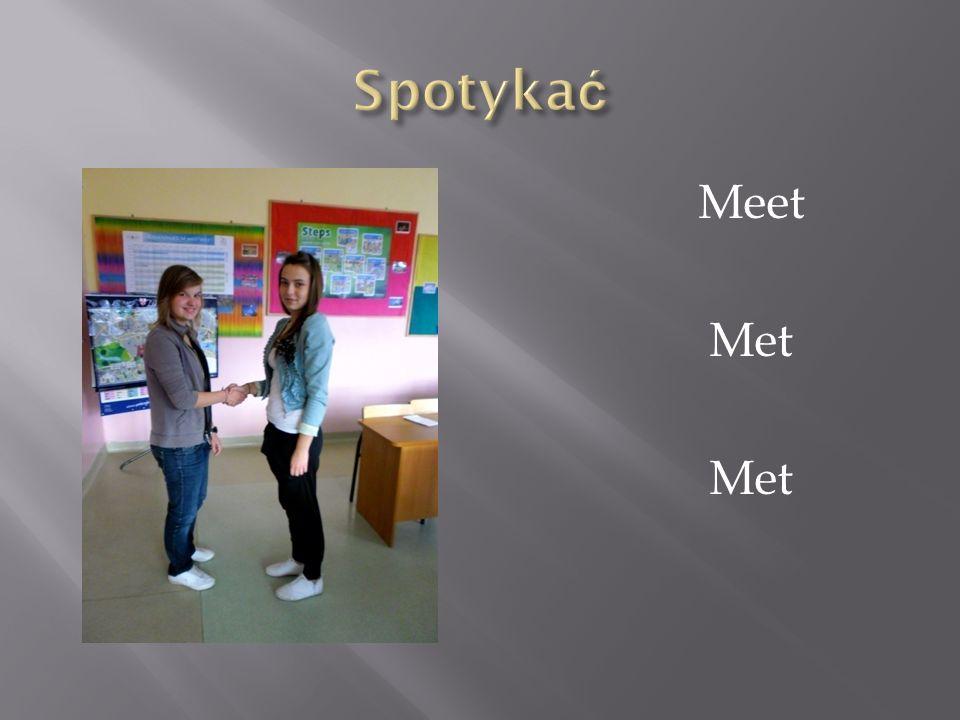 Spotykać Meet Met