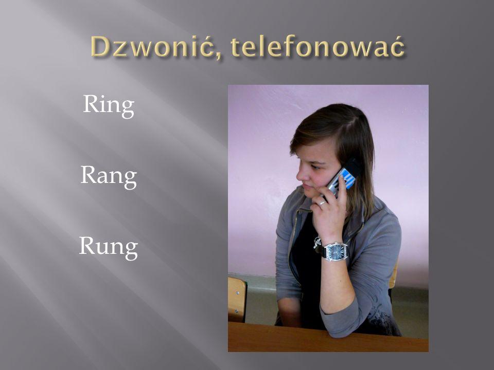 Dzwonić, telefonować Ring Rang Rung