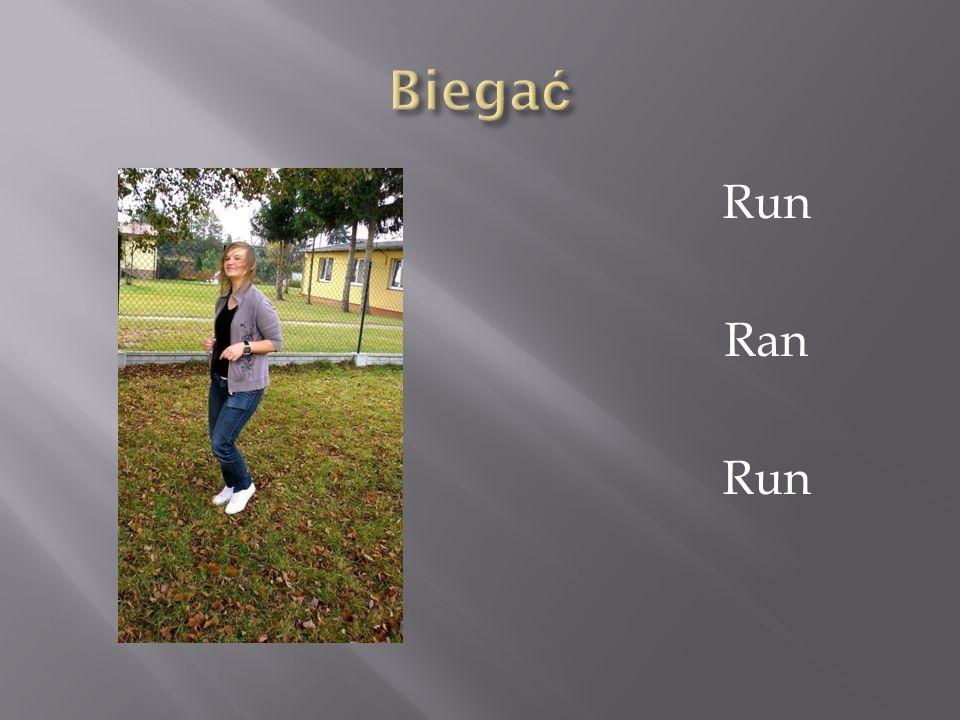 Biegać Run Ran