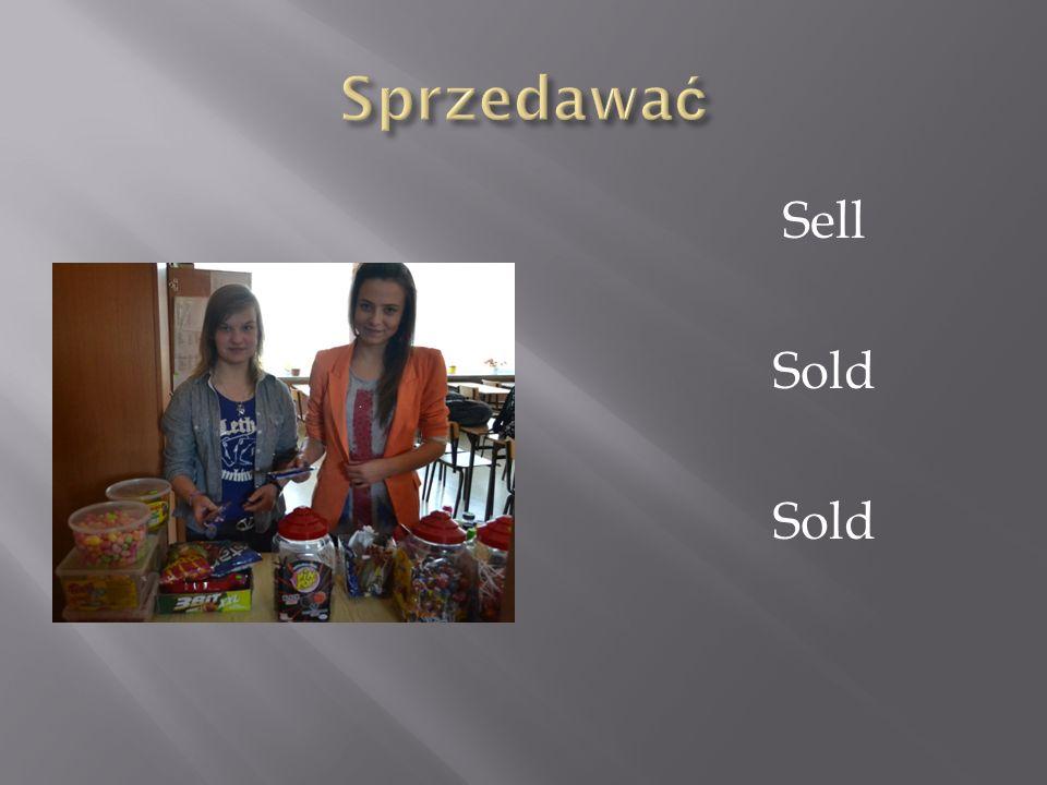 Sprzedawać Sell Sold