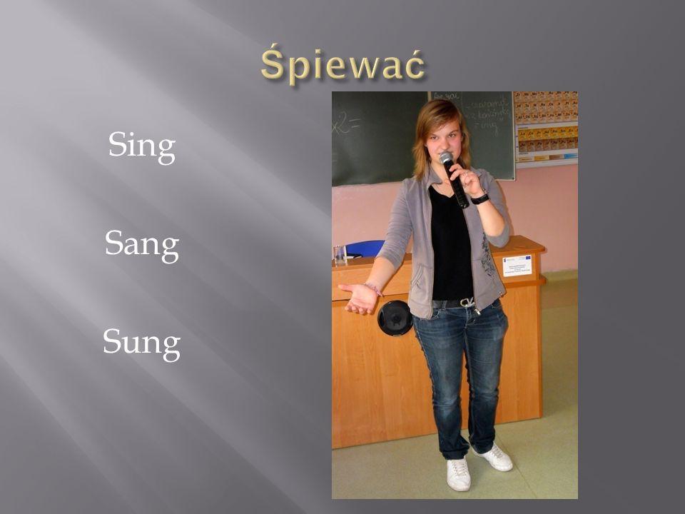 Śpiewać Sing Sang Sung