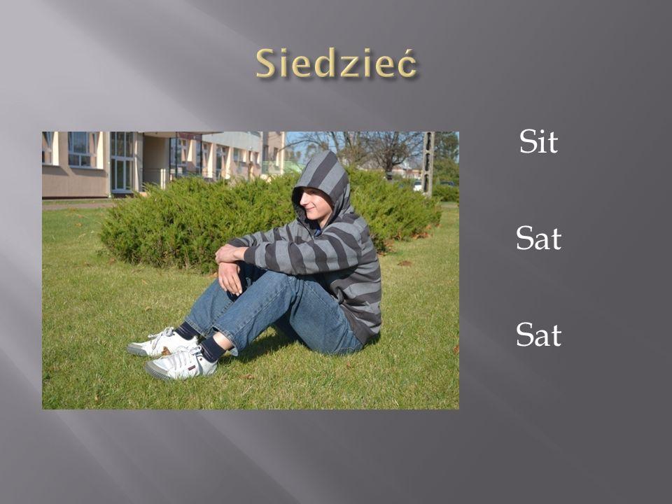 Siedzieć Sit Sat