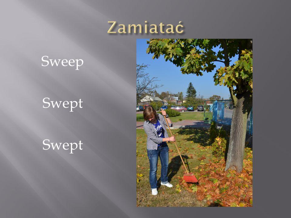 Zamiatać Sweep Swept