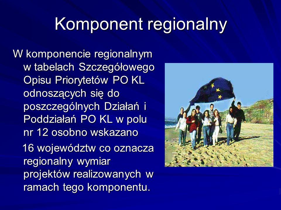 Komponent regionalny