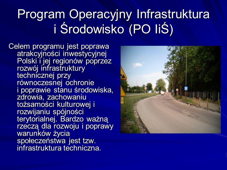 Program Operacyjny Infrastruktura i Środowisko (PO IiŚ)