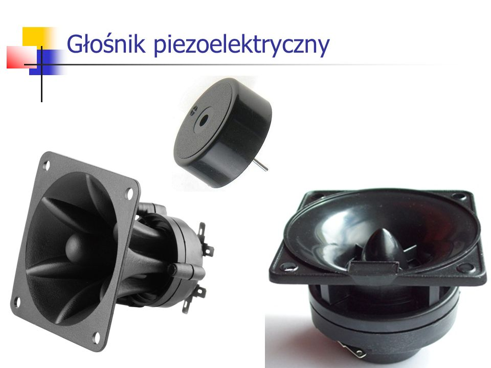 Głośnik piezoelektryczny