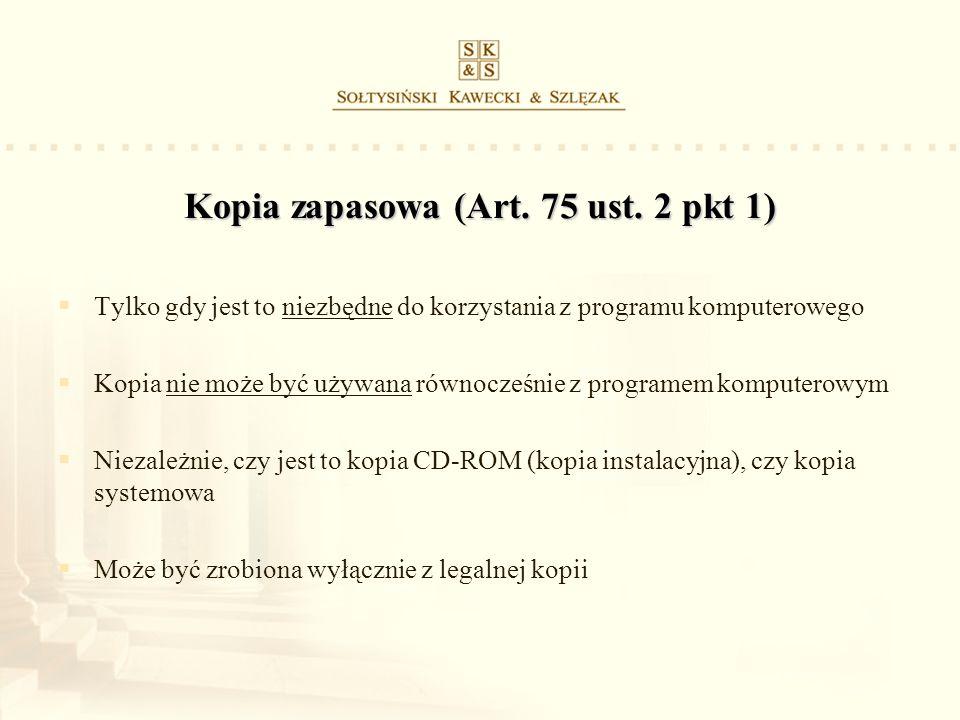 Kopia zapasowa (Art. 75 ust. 2 pkt 1)