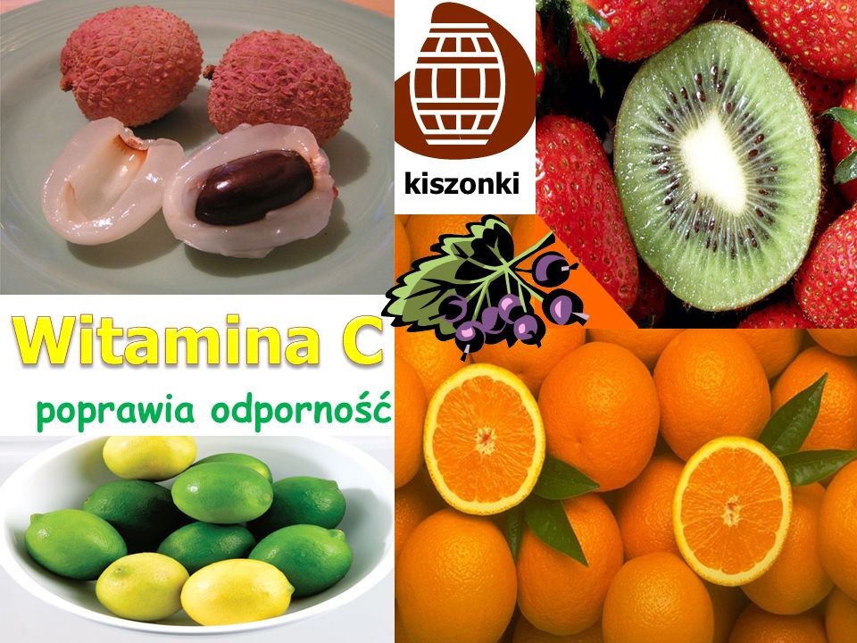 kiszonki Witamina C poprawia odporność
