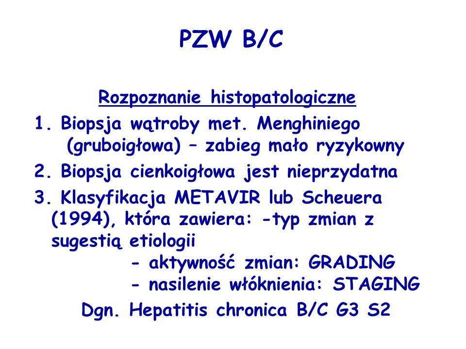 PZW B/C Rozpoznanie histopatologiczne